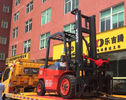 Effective Diesel Powered Forklift , High Reach Forklift 3000kg Loading Capacity