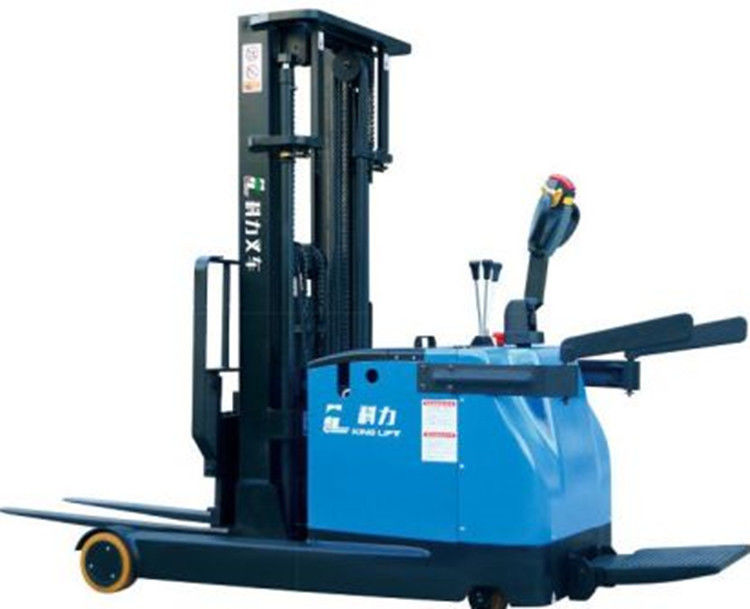 Battery Operated Full Electric Stacker Truck 1.5 Ton Capacity 3m Lifting Height