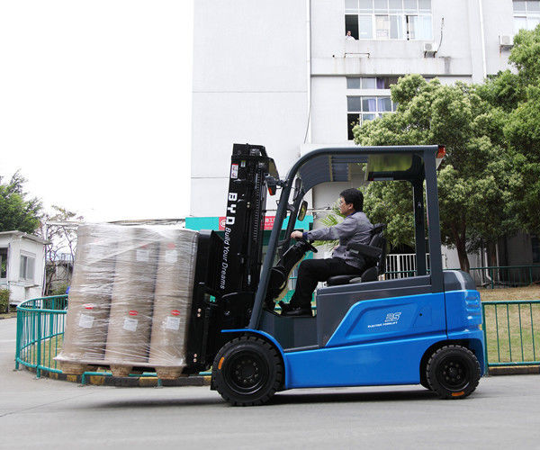 3.5 Tons Electric Forklift Truck Warehouse Material Handing Equipments